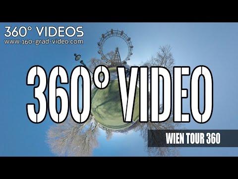 Sightseeing in Vienna 4K | 360 Degree Video | Vienna City | top ten attractions in Vienna