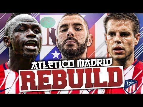 REBUILDING ATLETICO MADRID!!! FIFA 18 Career Mode