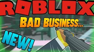 😱NEW UPDATE - NEW SKINS! 👍NEW GUN! + KNIFE 🕴️Roblox Bad Business ⚔️FPS ROBLOX GAME 🔴LIVE STREAM!