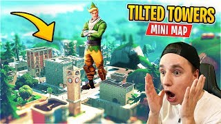 [CODE] SEASON 8 MINI Map! das kleinste TILTED TOWERS in ganz FORTNITE | WeissStudio