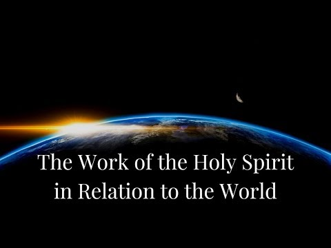 The Work of the Holy Spirit in Relation to the World | Pastor Bezaleel Cummings | John 16:7-11
