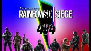 4v4 Match with Friends  Rainbow Six Siege