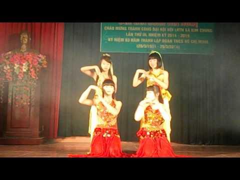 Múa ấn độ temptation Chi Đoàn Yên Vĩnh