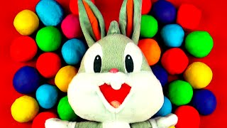 bugs bunny play doh surprise eggs peppa pig thomas the tank engine dora my little pony toy fluffyjet