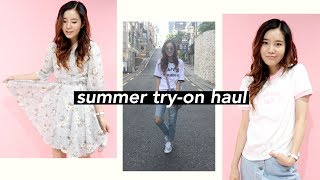 ☀️KOREAN FASHION TRY-ON HAUL for SUMMER!🍓