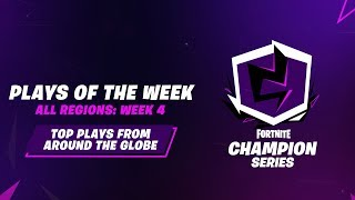 Fortnite Champion Series: Week 4 Plays of the Week