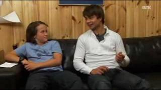 Alexander Rybak NRK super TV 17.12.2009 Александр Рыбак