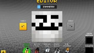 How to make a Troll skin in Pixel Gun 3D