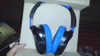 turtle beach ear force recon 60p ps4 gaming headset unboxing