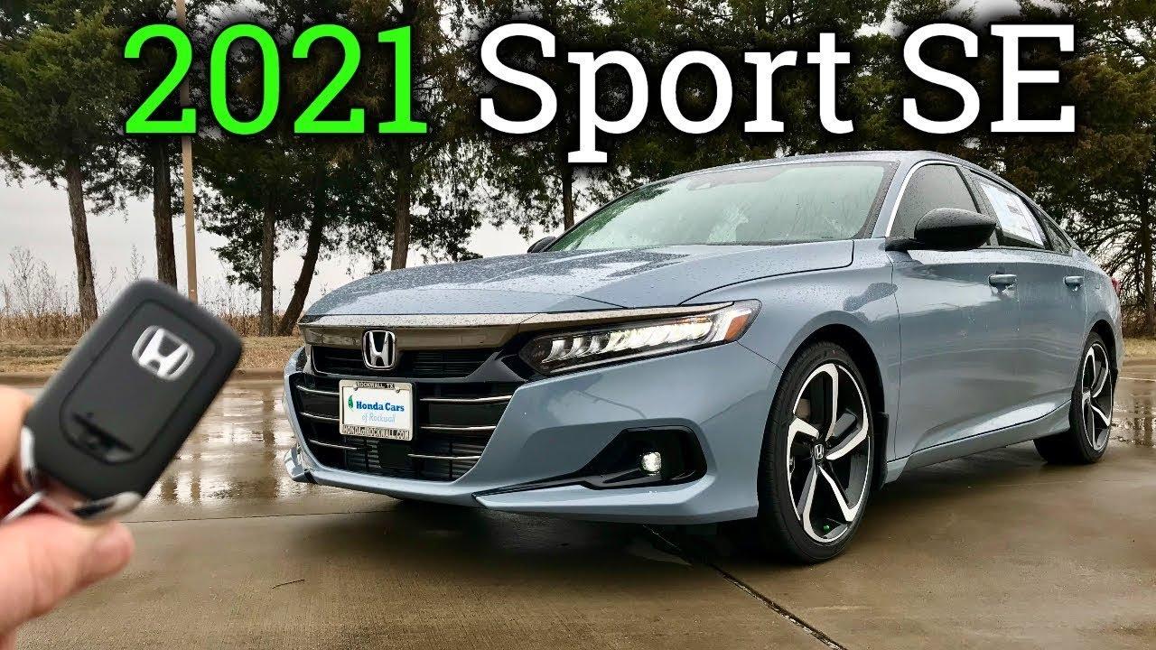 2021 Honda Accord Sport SE | New Special Edition Accord!