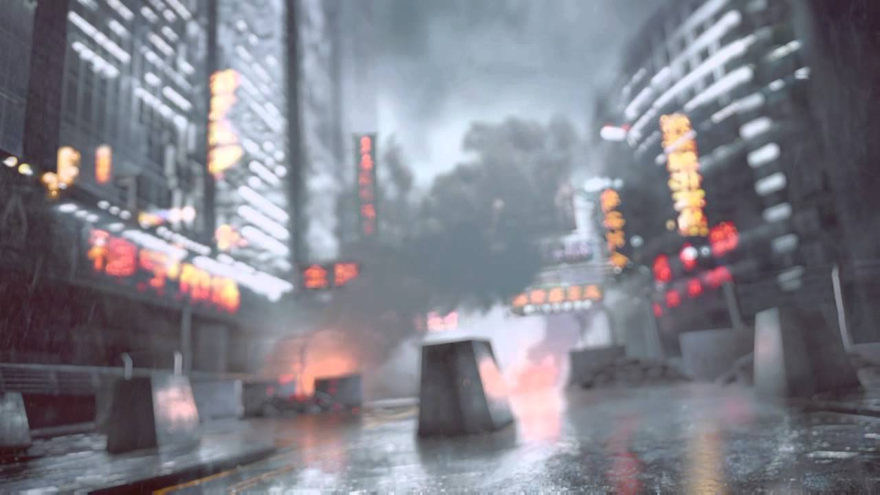 Battlefield 4 Dragons Teeth Main Menu Video Background Clean Image