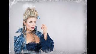 Marie Antoinette Hair & Makeup Tutorial for Halloween 2017