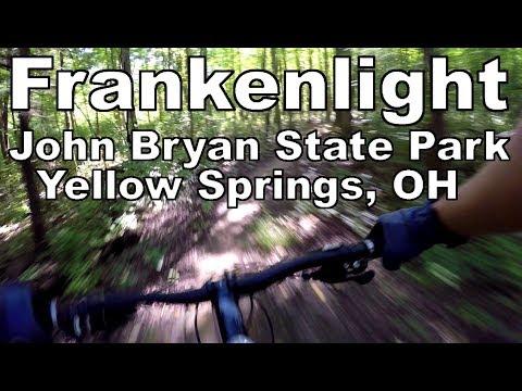 Riding Frankenlight & Lower Great Scott | John Bryan State Park | Yellow Springs, OH