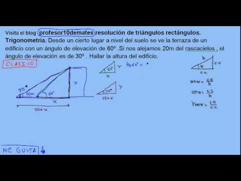 Resolución De Triángulos Rectángulos Trigonometría 16
