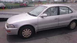 Видео-тест автомобиля Toyota Sprinter (Ae100-5163159, 5A-FE, 1995г)