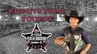 RODEIO DE CONCHAS | Disputa Final 🐂 TOUROS 2018