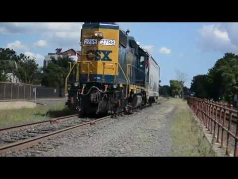 Whole Lotta' CSX, Railfanning, Bound Brook, NJ Aug. 30, 2016 w/ Tons of Action, Tons.