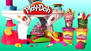 Play Doh Swirling Shake Shoppe Make Play Dough Shakes Smoothies Ice-cream Desserts Sweet Shoppe