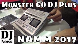 MONSTER GO DJ Plus Portable Mobile Wireless DJ Playback Mixing Device | Disc Jockey News