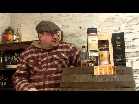 whisky review 344 - Information on Whisky Maturation and Finishing