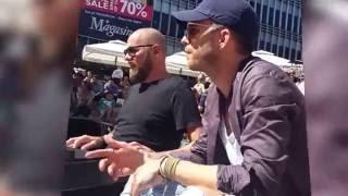 Nik & Jay akustisk jam ved åen i Århus