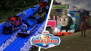 Be Who You Are and Go Far | Thomas & Friends The Great Race Song Comparison