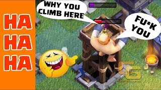 Clash of Clans Funny Moments Trolls Compilation #6 | COC Montage