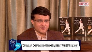 """""""Regret taking off shirt at Lord's""""  Sourav Ganguly to Barkha Dutt"""