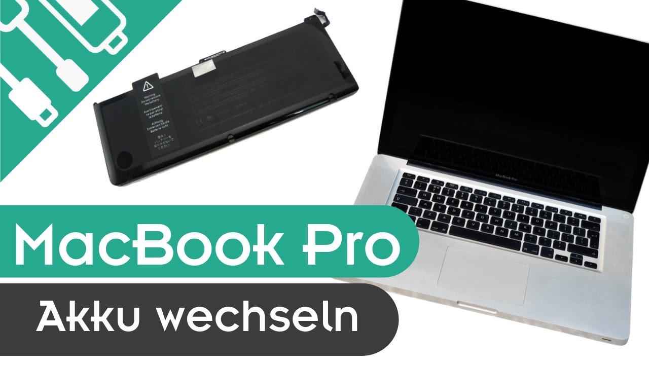 Apple Macbook Pro 13 Zoll 2009 2012 Einfacher Akkuwechsel Kaputt De Youtube
