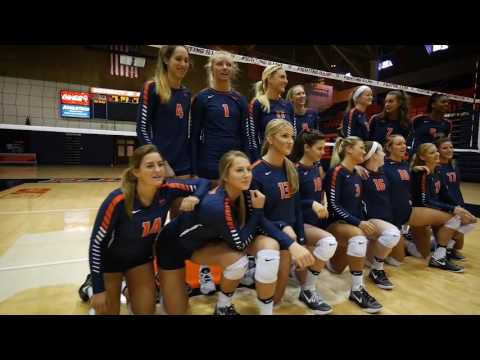 Illinois Volleyball Media Day 2016 Sights & Sounds