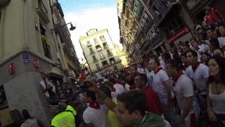 POV Running of the Bulls - GoPro