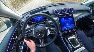 2022 W206 Mercedes C-CLASS Drive! New C-Class Interior Ambiente
