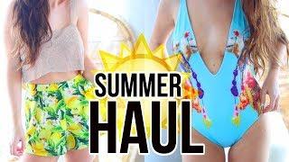 HUGE TRY ON SUMMER HAUL || Sarah Belle