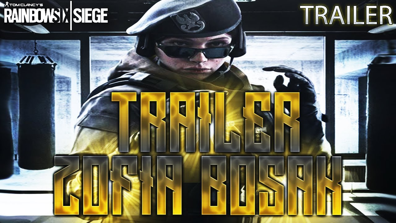 Trailer zofia bosak white noise rainbow six siege - Rainbow six siege bosak ...