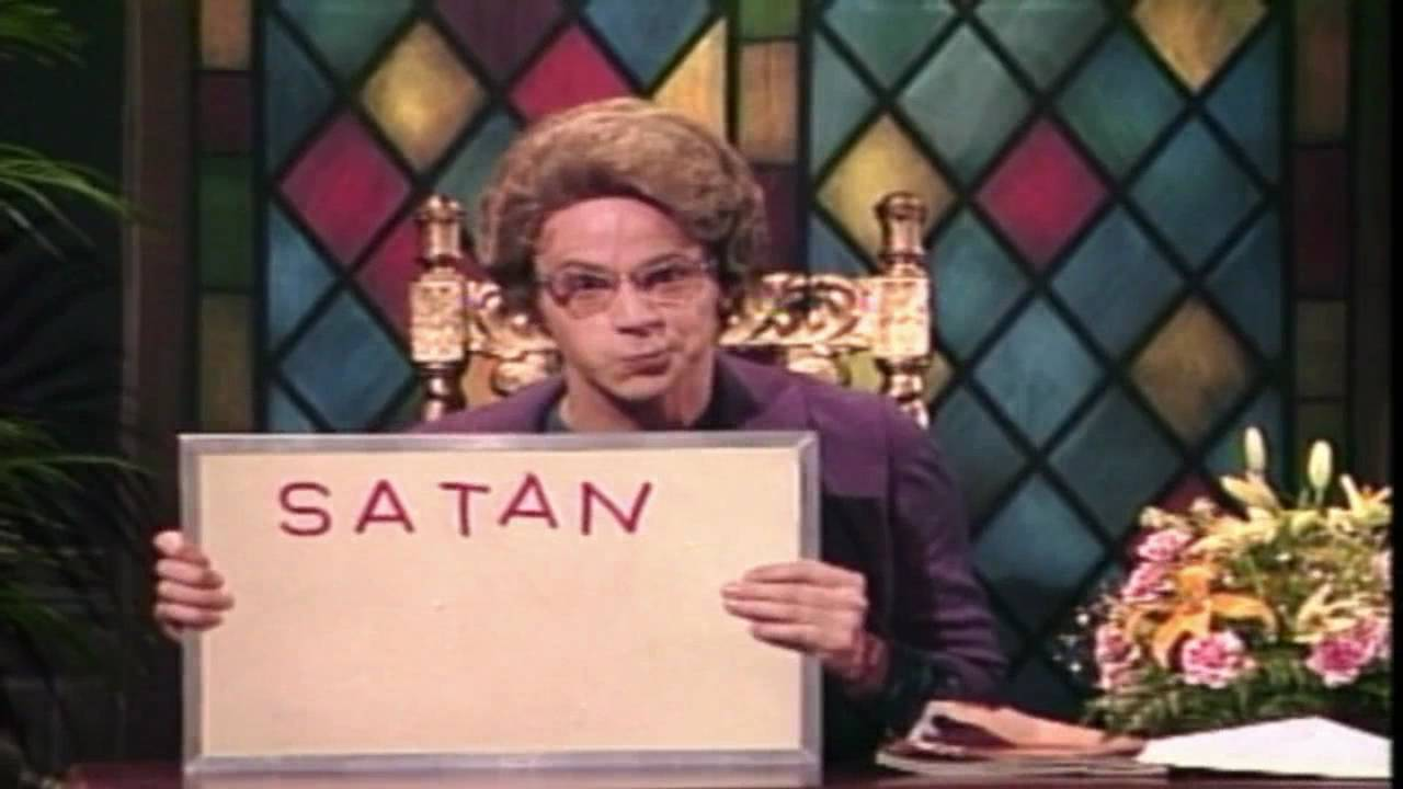 Image result for church lady satan