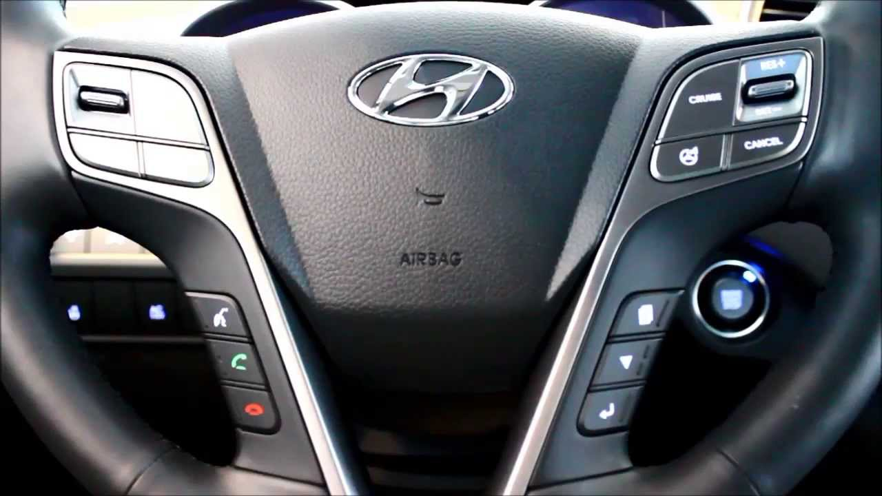 2013 hyundai santa fe third row seat youtube. Black Bedroom Furniture Sets. Home Design Ideas