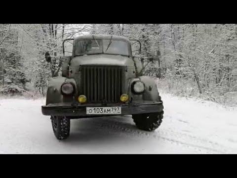 Газ 51A    планы, комментарии и зимний лес