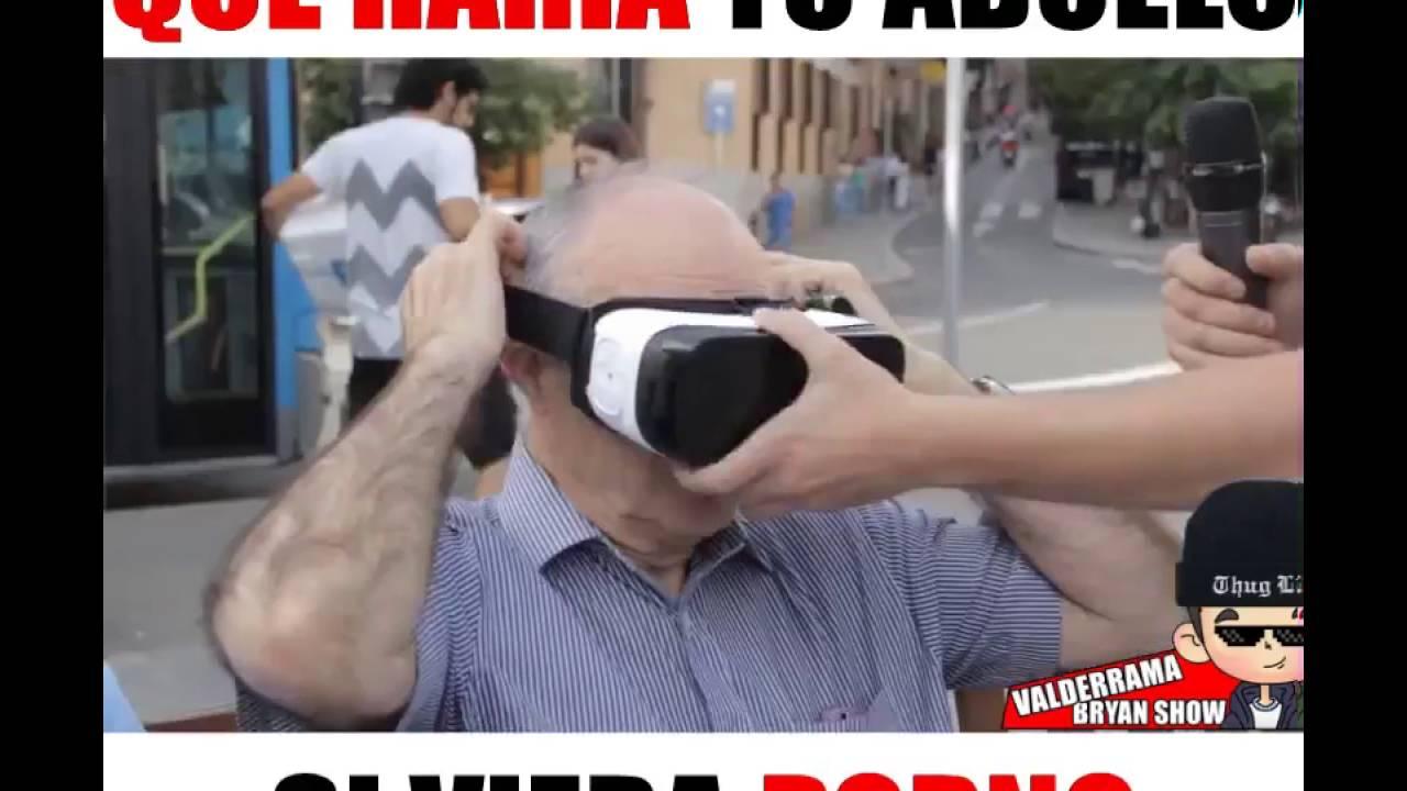 Abuelo Le Fuerza Porn que haria tu abuelo si viera porno