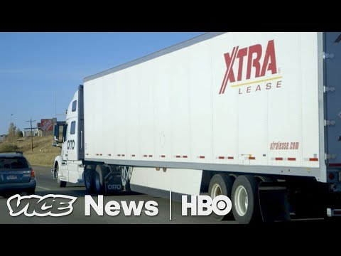 Ride In One Of The World's First Self Driving Trucks (HBO)