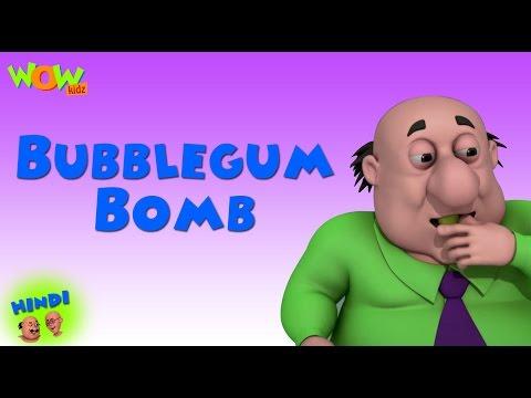Bubblegum Bomb - Motu Patlu in Hindi - ENGLISH & FRENCH & SPANISH SUBTITLES! - 3D Animation Cartoon thumbnail