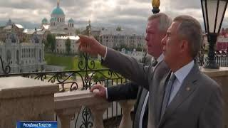 Василий Голубев и Рустам Минниханов обсудили сотрудничество Дона и Татарстана
