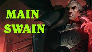 SWAIN SUPPu0026TOPu0026MID - Swain Montage #168 - League of Legends Swain