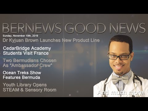 "Bernews ""Good News"" Sunday Spotlight, November 10, 2019"