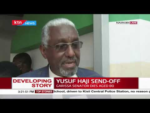 Developing: Friends and leaders remember Yusuf Haji as final preparations for his burial take shape