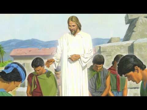 Capítulo 46: Jesucristo enseña a los nefitas y ora con ellos
