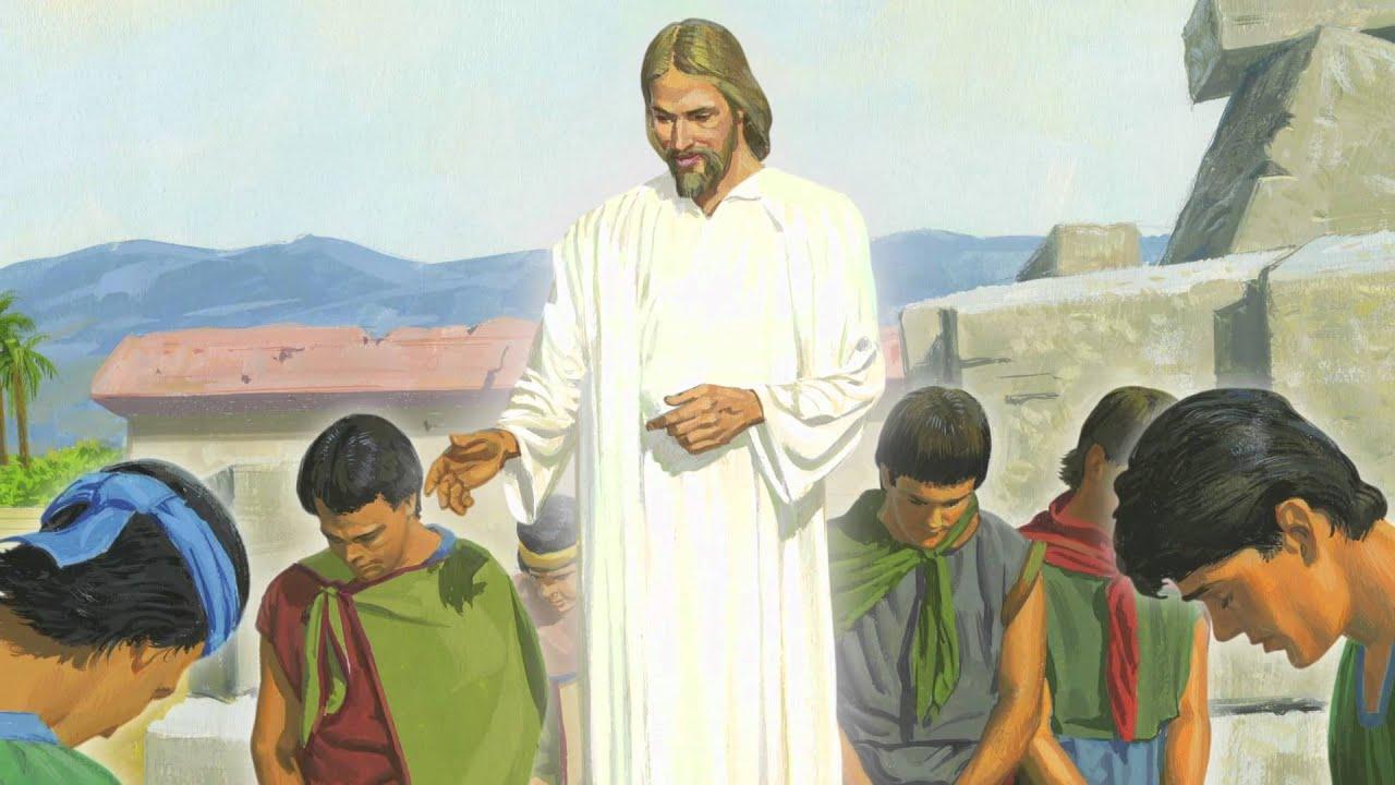Capítulo 46: Jesucristo enseña a los nefitas y ora con
