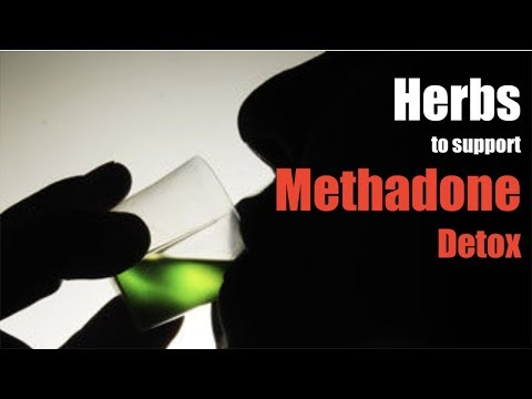 Herbal remedies for a methadone detox