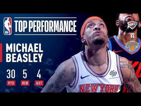 Download Youtube: Michael Beasley's LIGHTS OUT Performance vs OKC | Dec. 16, 2017