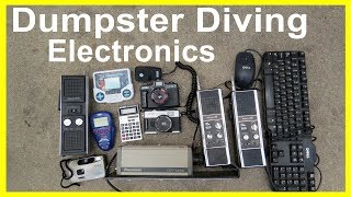 Watch What This Idiot finds Dumpster Diving #286 WOW Electronics