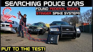 Download Searching Police Cars Found Stinger Spike System! Crown Rick Auto Mp3 and Videos